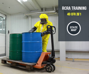 Click for RCRA Training Map